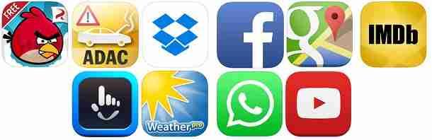 Die besten kostenlosen Apps für iPhone, iPod Touch und iPad