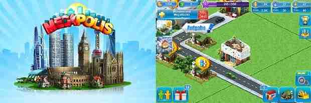Neue Spielwelten mit der Megapolis App