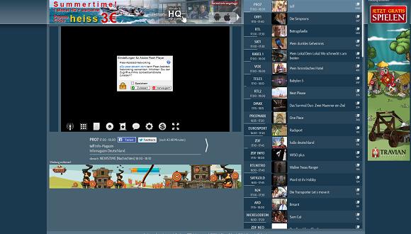 Fernsehen live und kostenlos anschauen mit schoener-fernsehen.com – So geht's