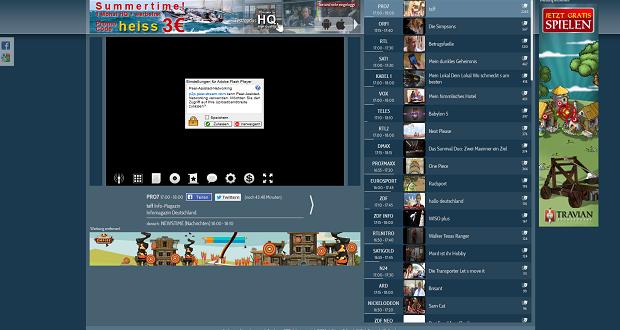 Fernsehen Live Und Kostenlos Anschauen Mit Schoener Fernsehencom