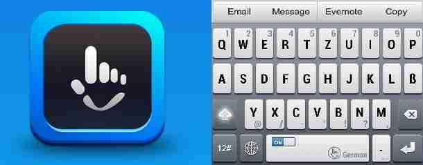 TouchPal Keyboard App – wieso tippen wenn man auch schnell sliden kann?