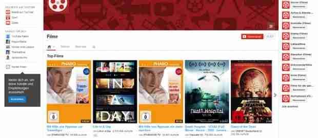 Die besten Filme jetzt auf Youtube.de kostenlos ansehen – So geht's