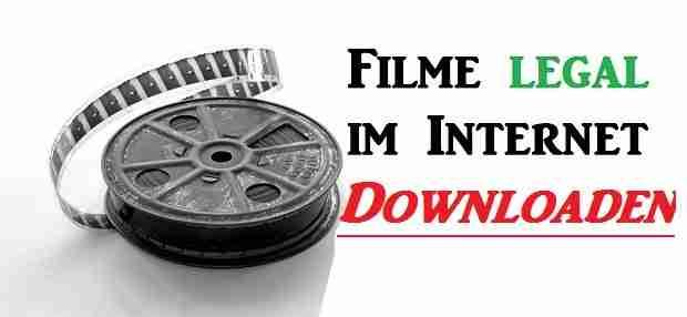 Filme legal im Internet downloaden – So geht's