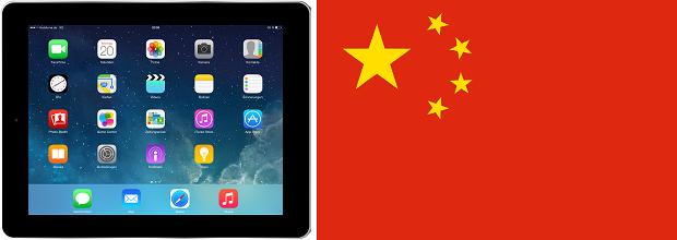 Verkaufsverbot für iPad in China angedroht