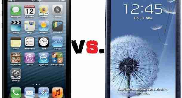 Vergleich: iPhone 5 vs. Samsung Galaxy s3