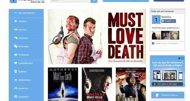 Filme kostenlos und legal auf Netzkino.de gucken