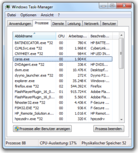 Windows Task-Manager