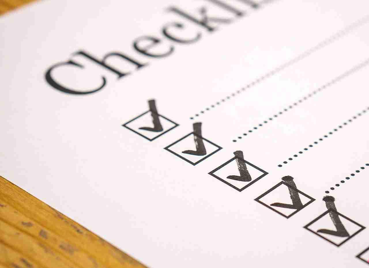 Checkliste Steuer