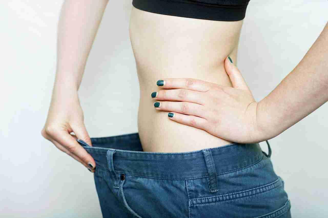 Körperfettzange messen