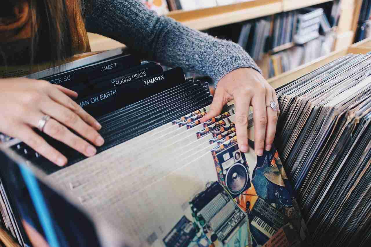 Schallplatten lagern