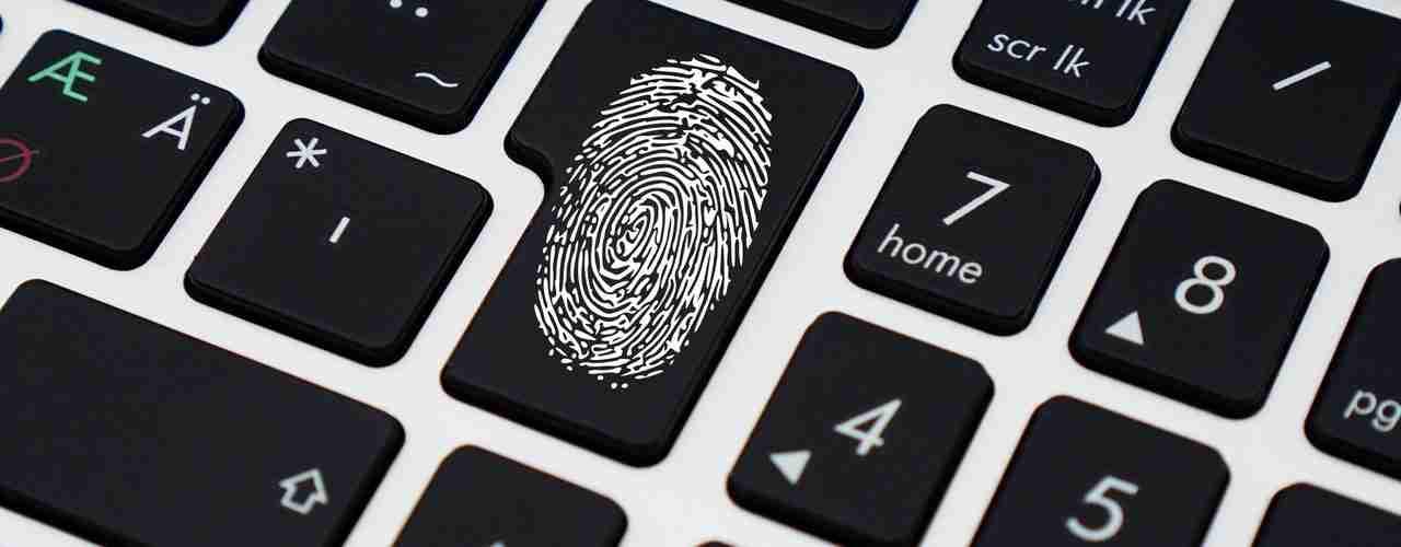 Fingerabdruck Pass