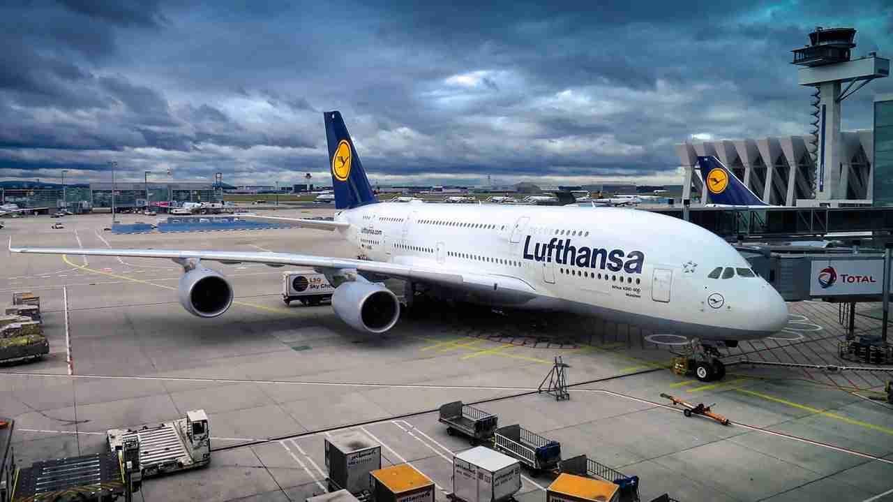 Flug stornieren bei Lufthansa
