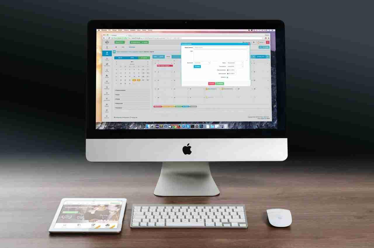 iMac Tastatur reinigen