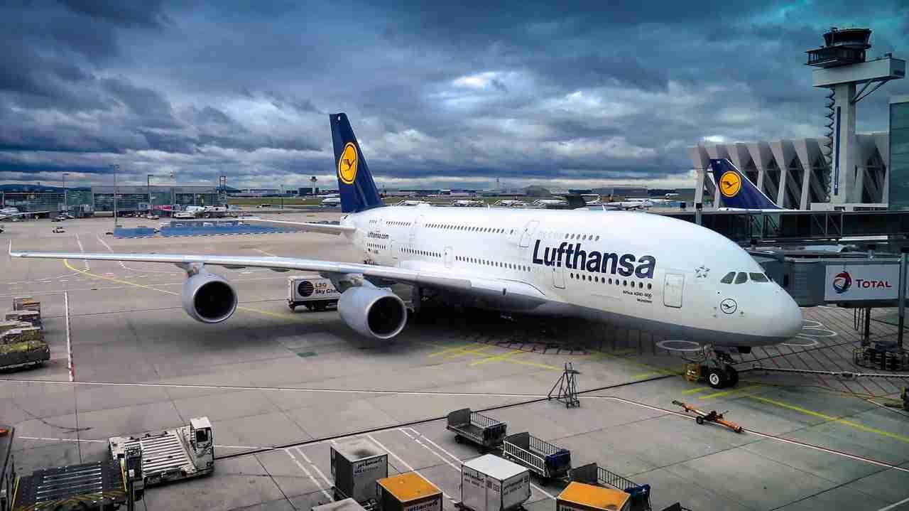 Lufthansa Corona