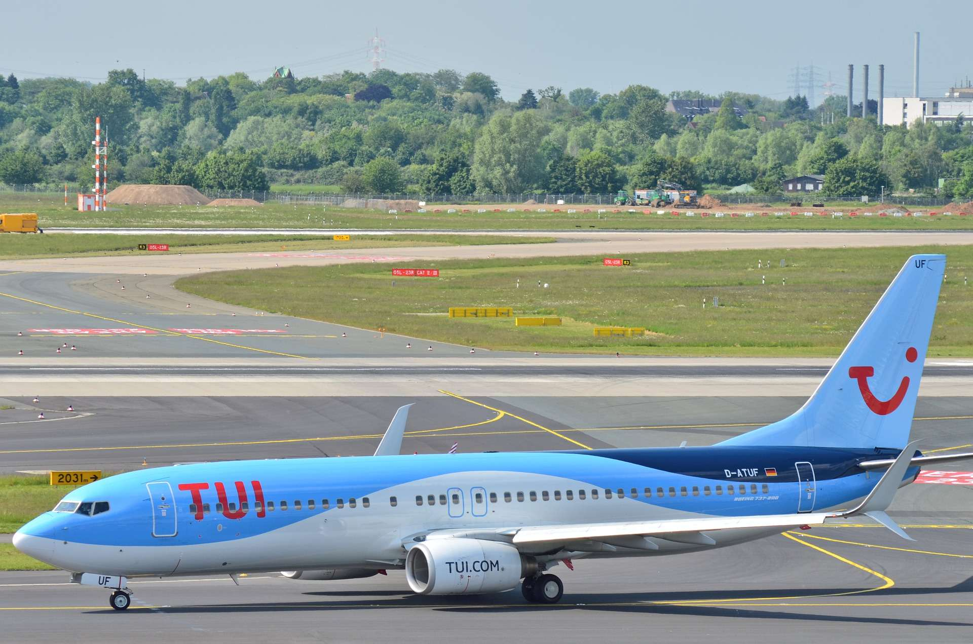 TUIfly Flug Corona