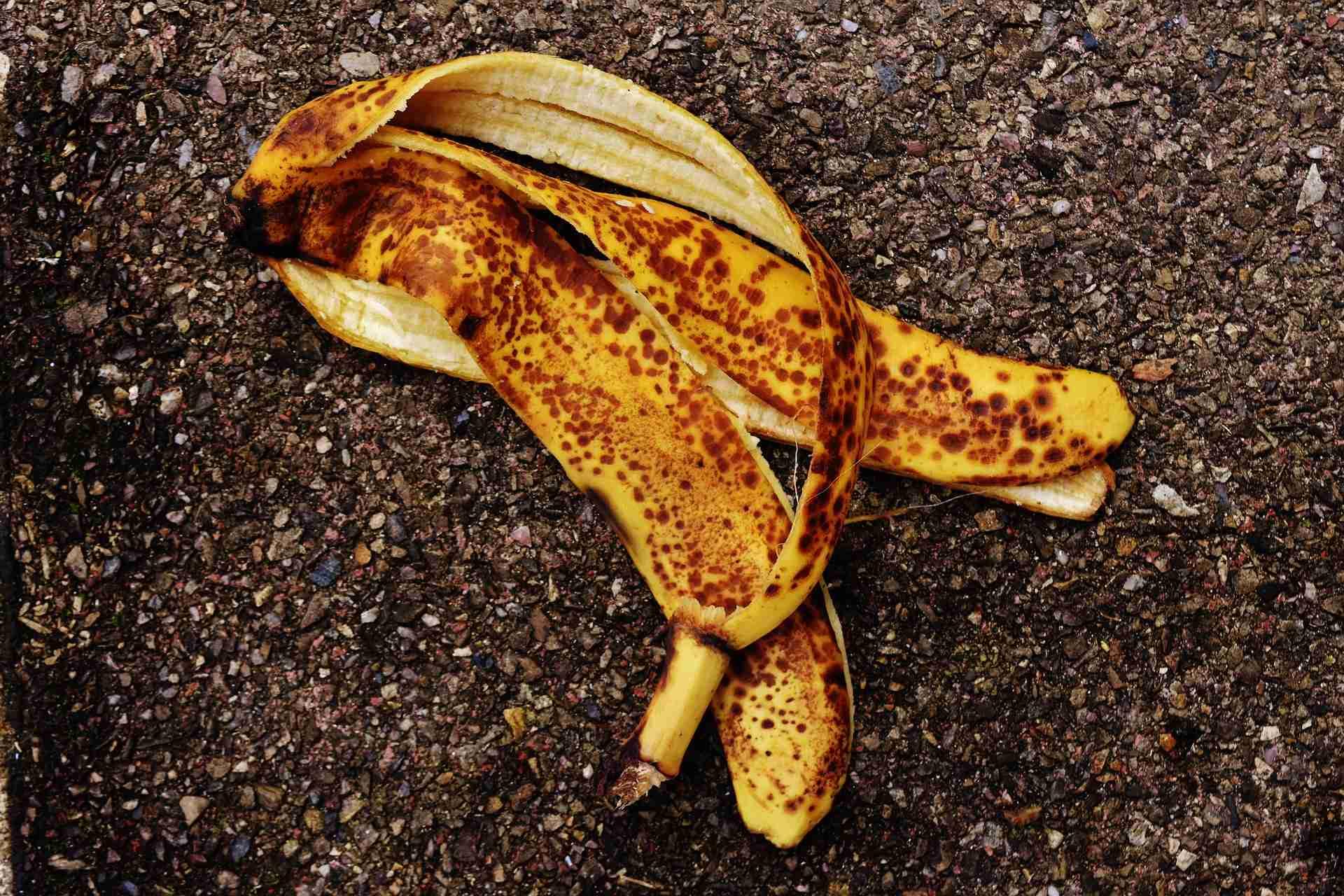 Bananenschale Dünger