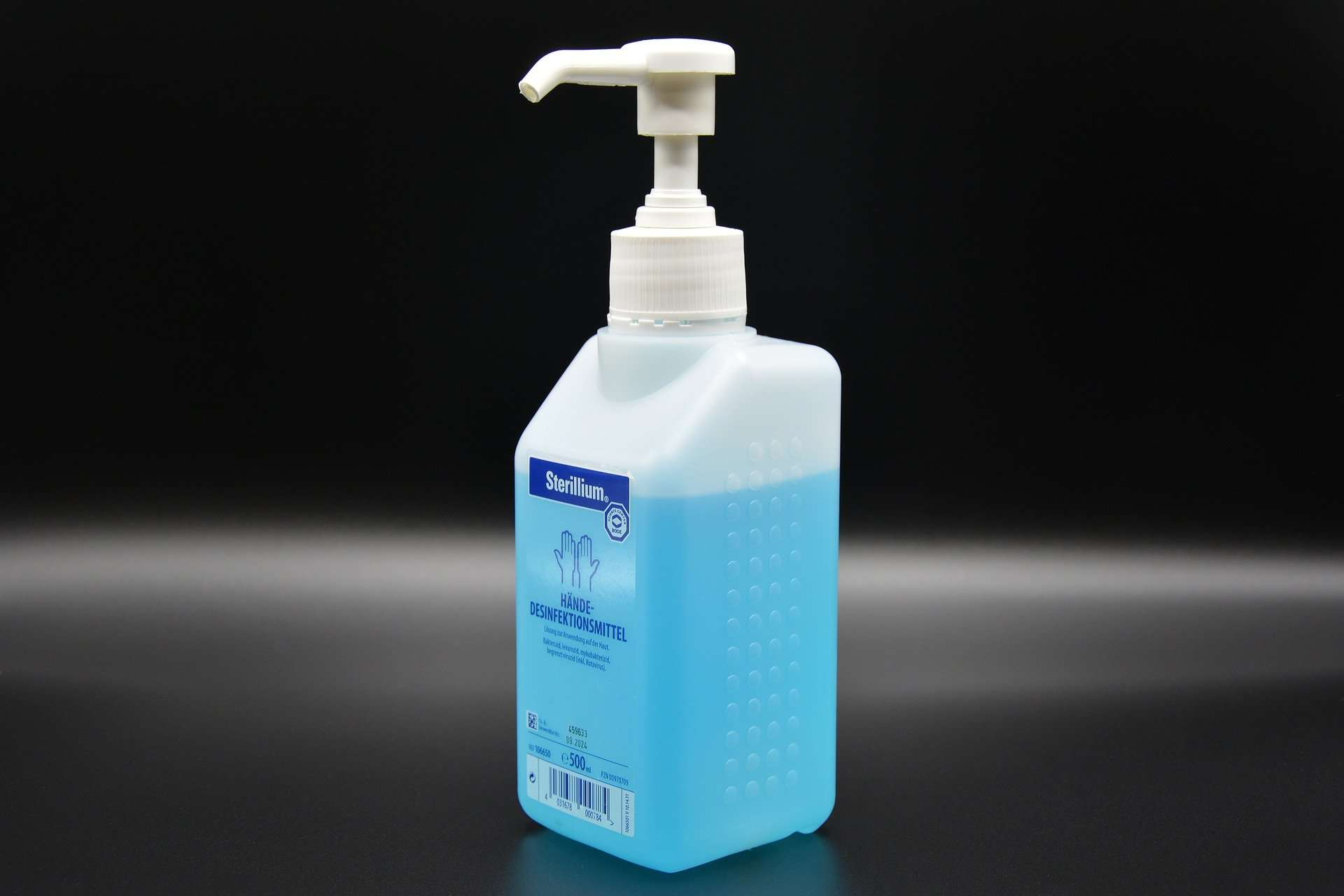 Desinfektionsmittel entsorgen