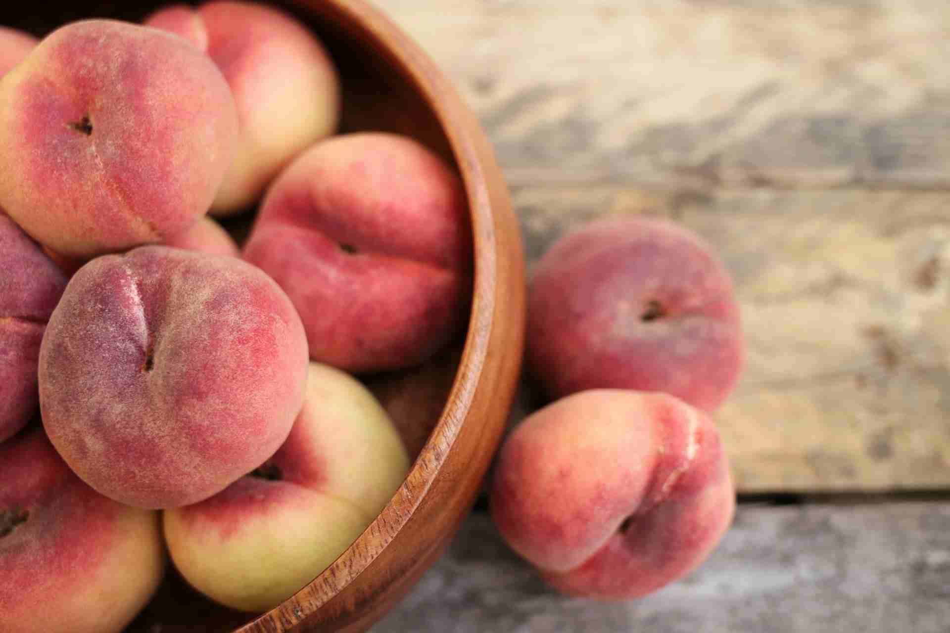 Pfirsiche lagern
