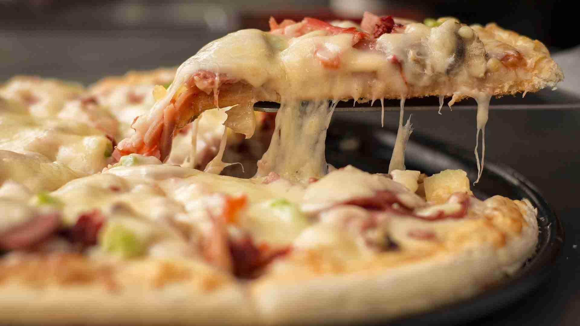 Pizzateig vorbereiten