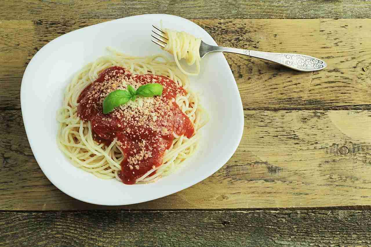 Spaghetti essen Italien