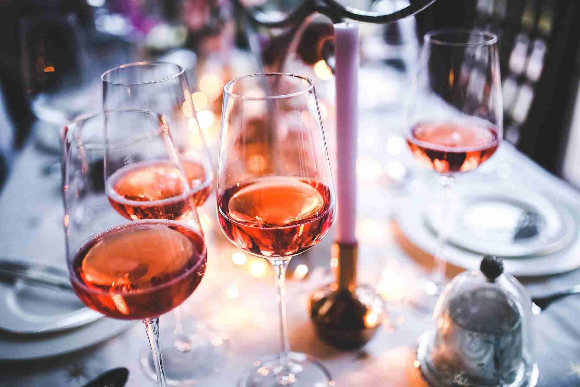Wein trinken