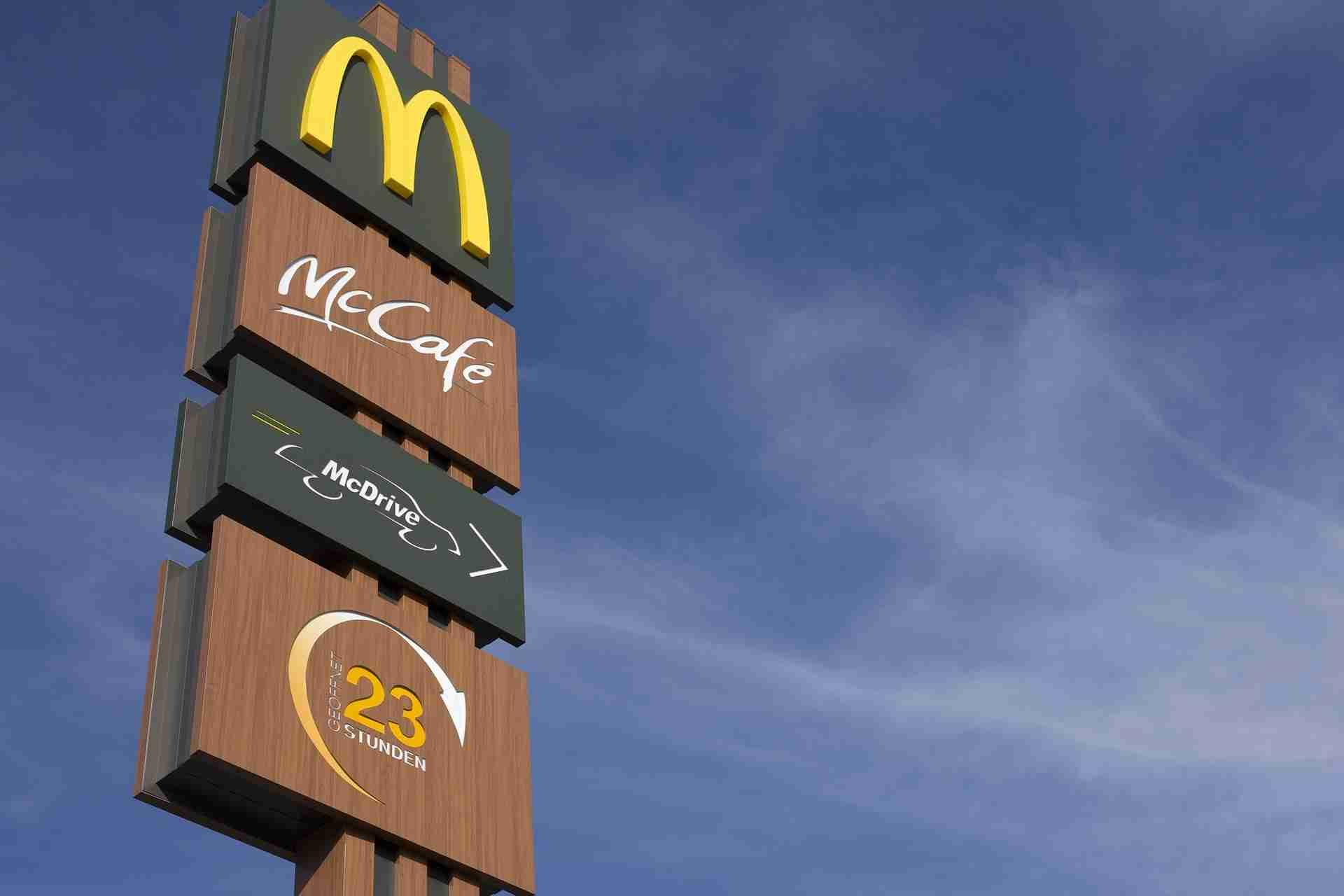 McDonalds vegan Menü
