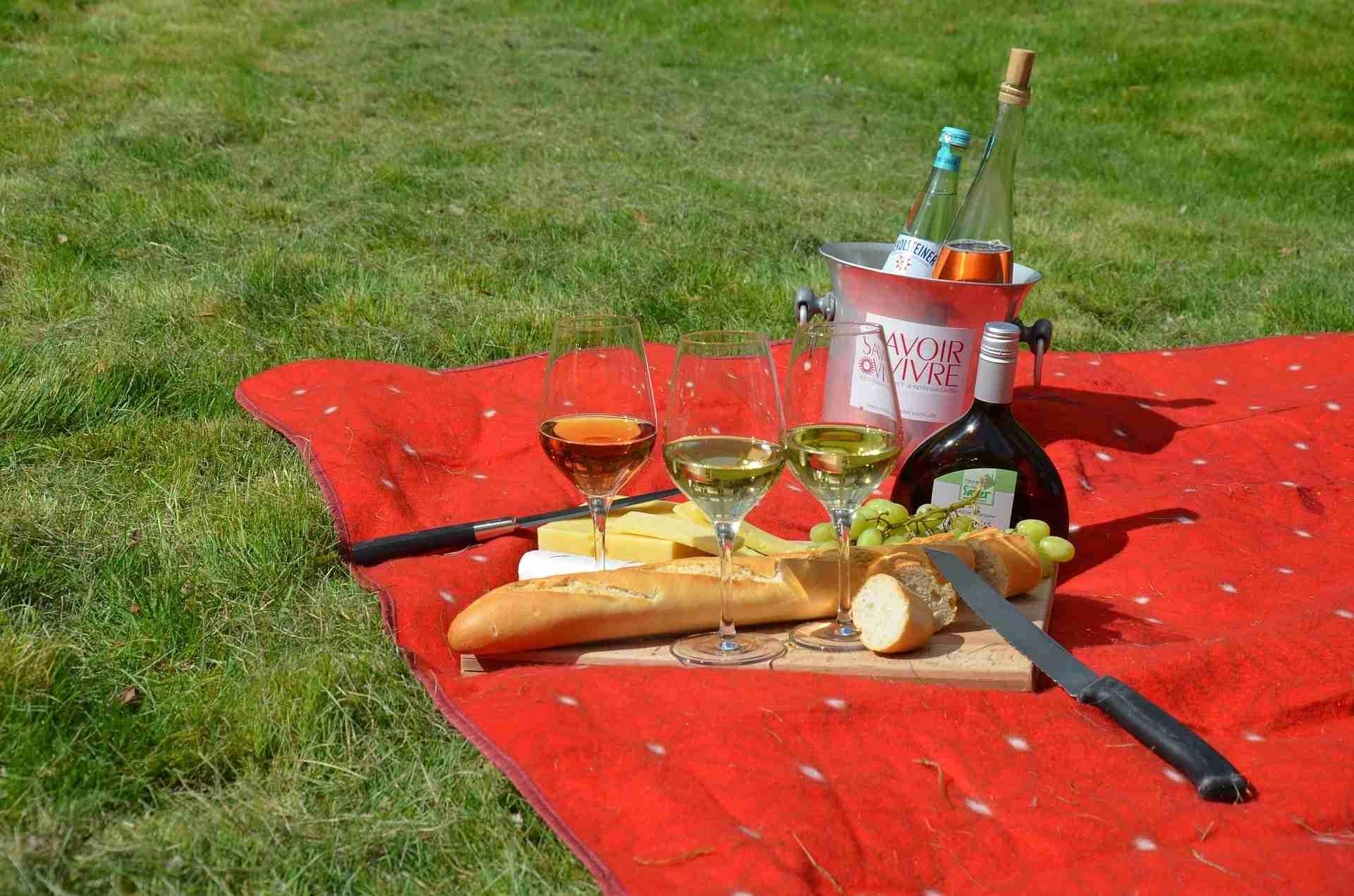 Picknickdecke waschen