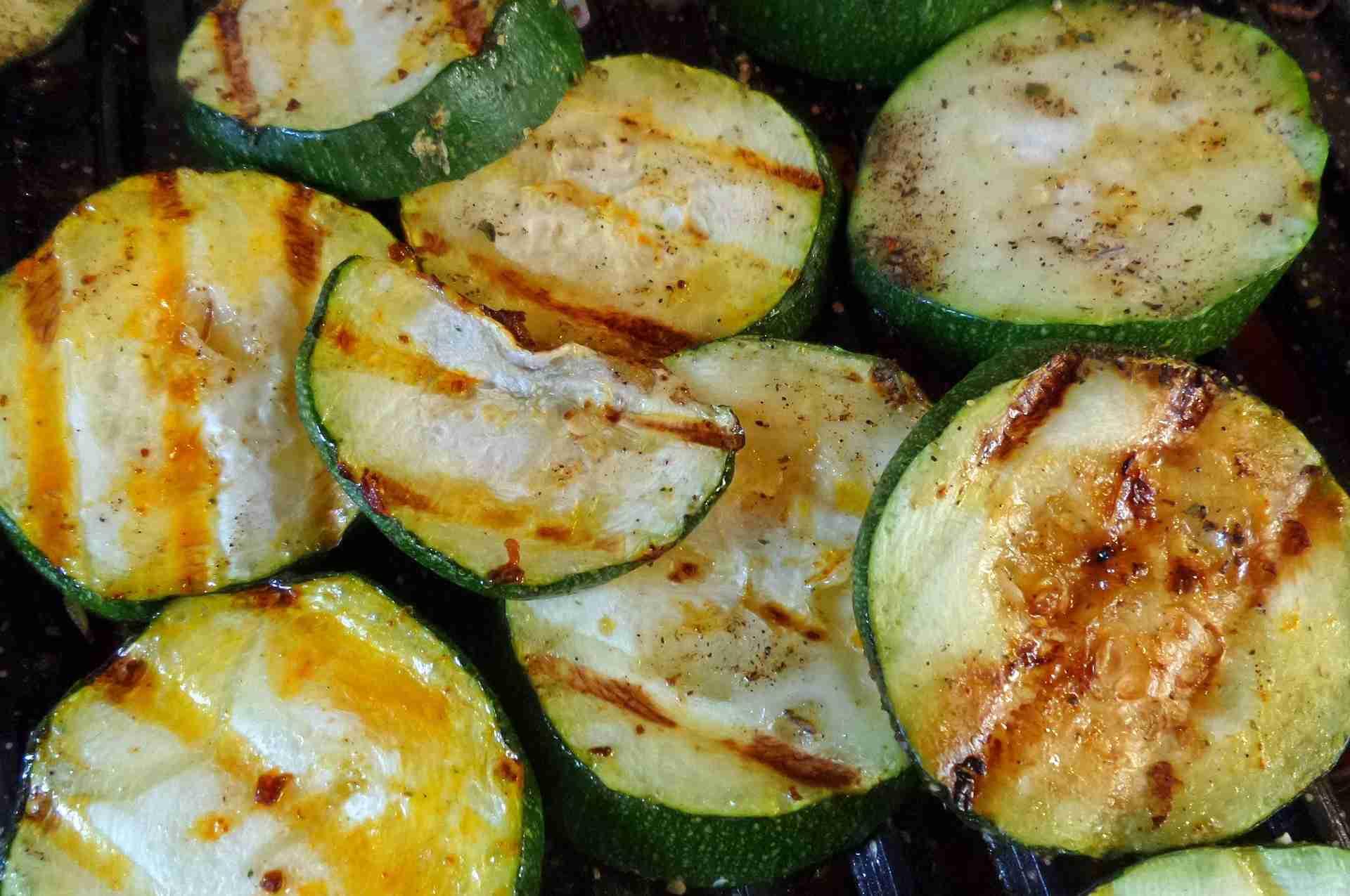 Zucchini grillen