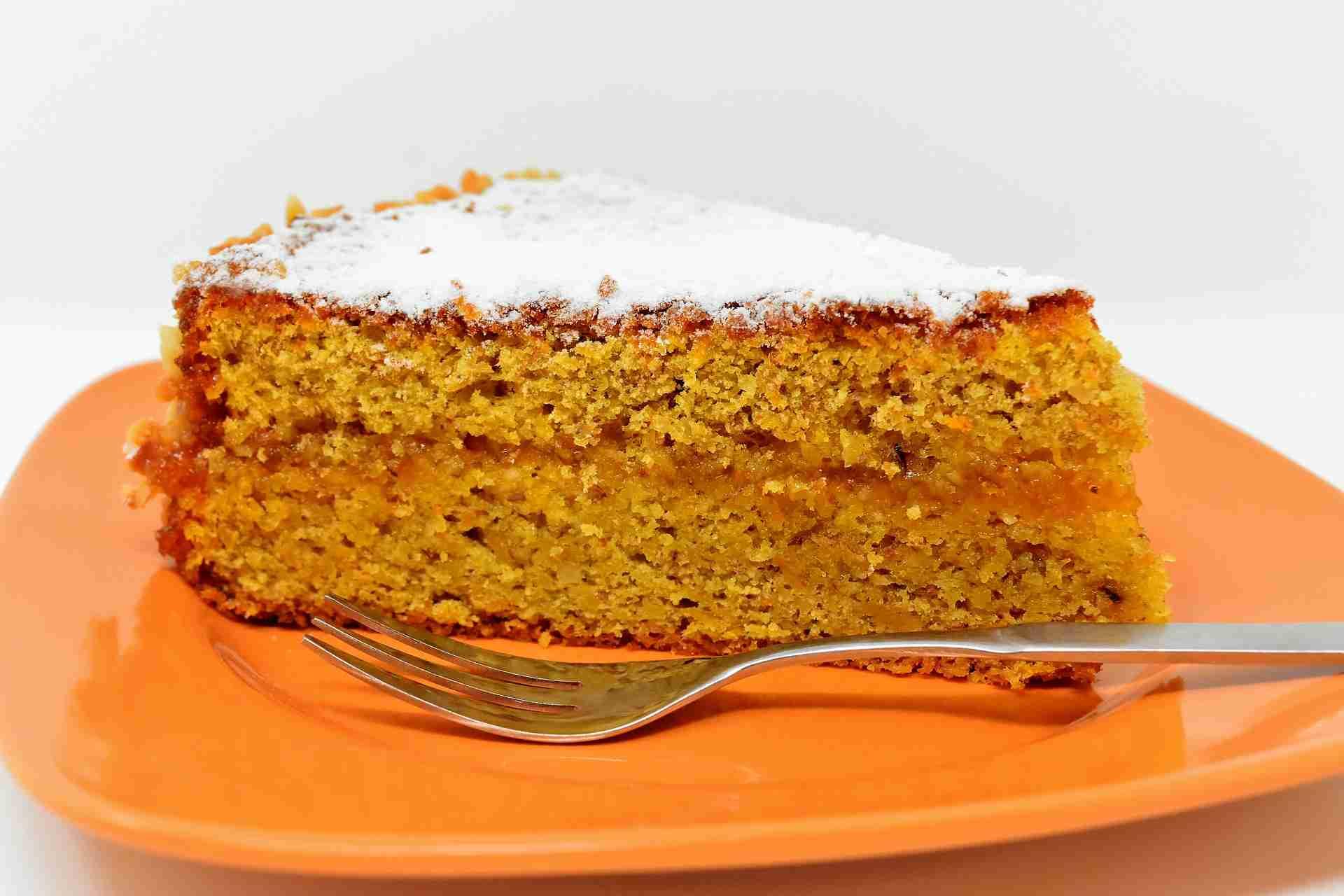 Karottenkuchen ohne Zucker