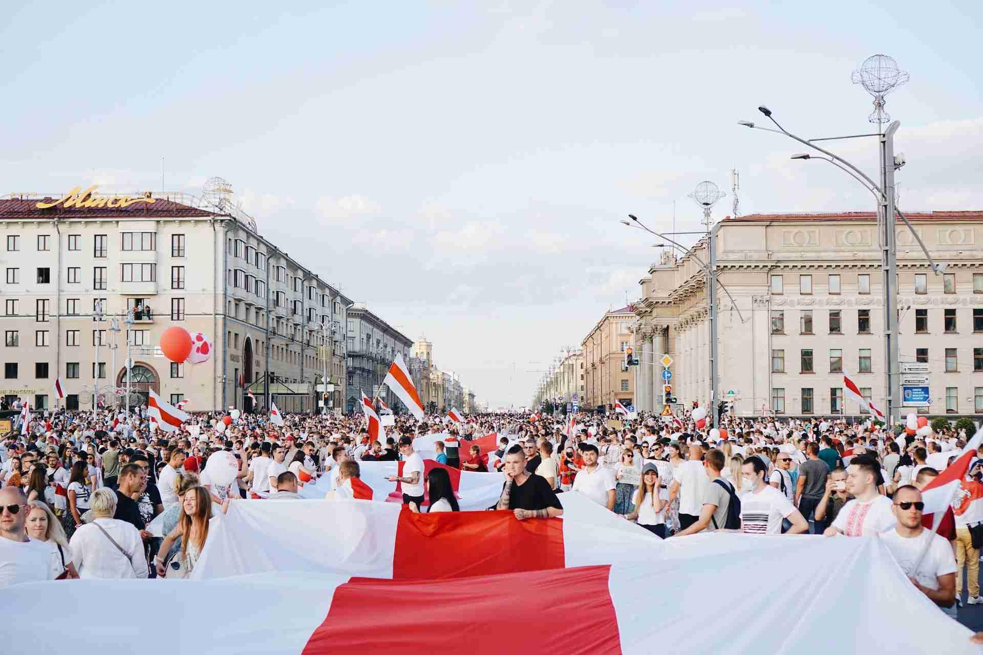 Belarus Fahne Bedeutung