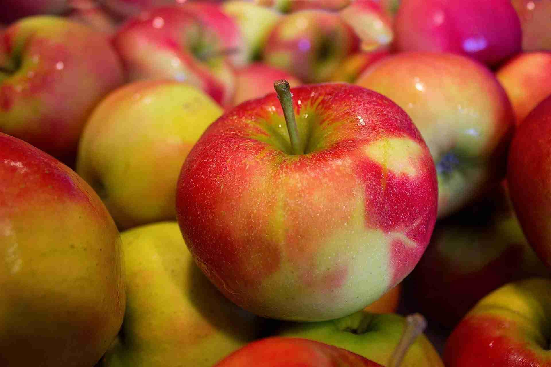 Äpfel einlegen