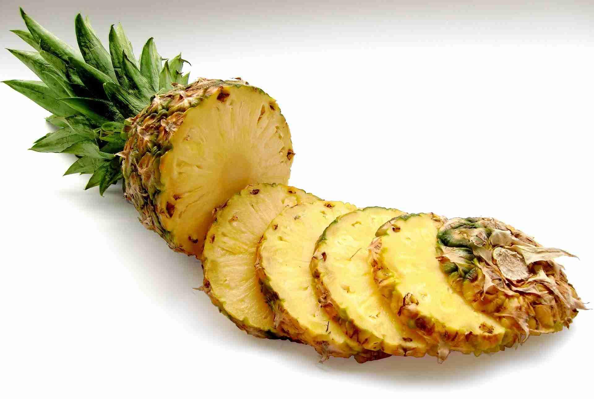 Ananas reif erkennen