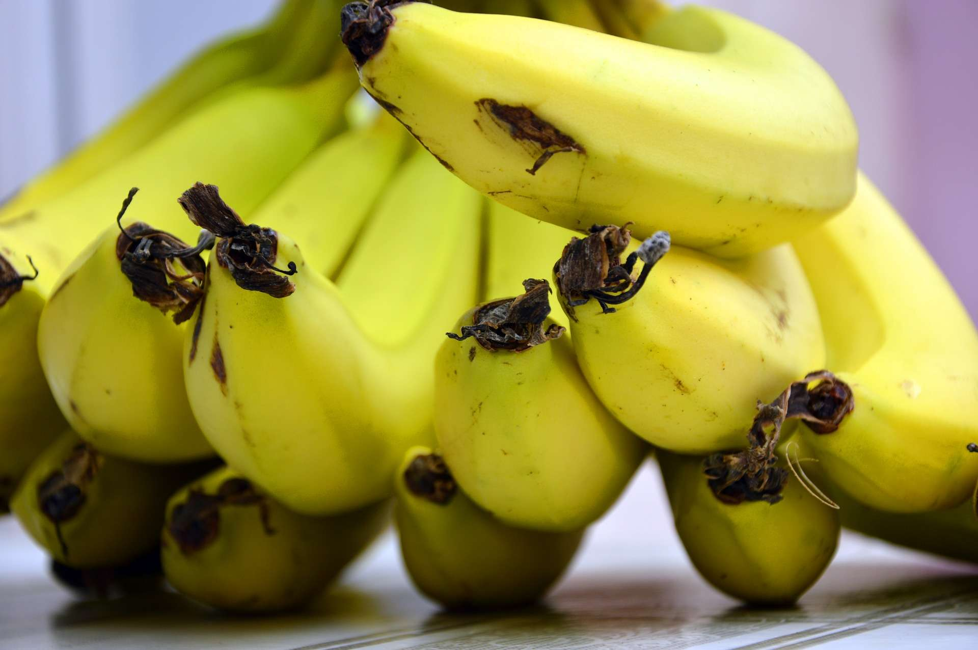 Bananen lagern