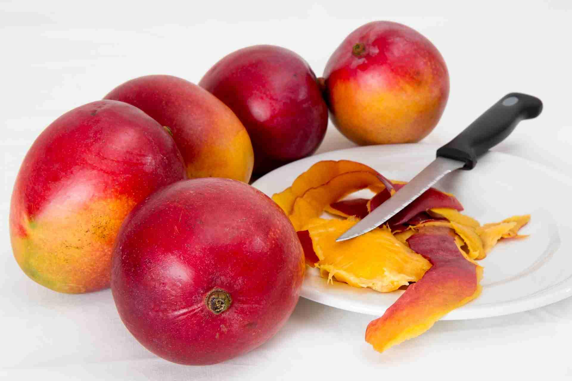 Wie Schält Man Mango