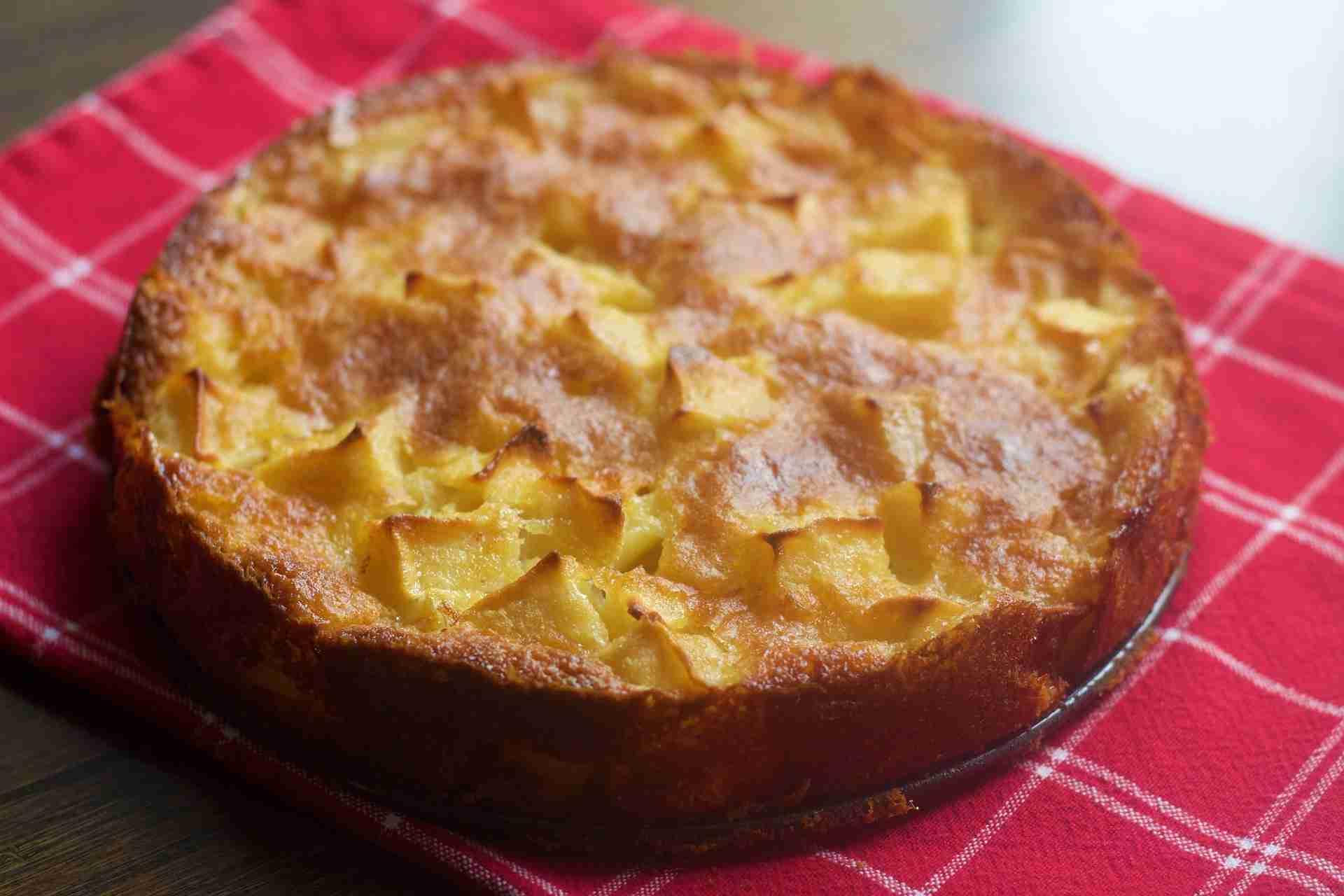 Rührkuchen mit Äpfeln Rezept