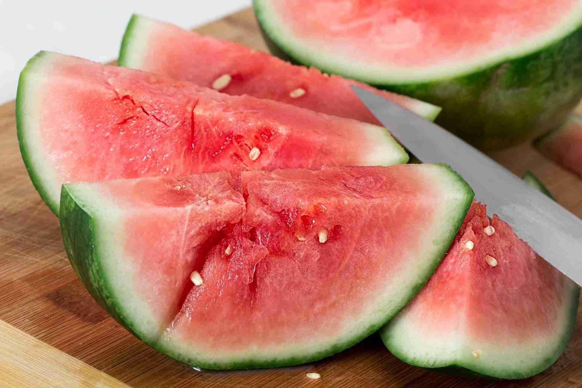 Wassermelone haltbar machen