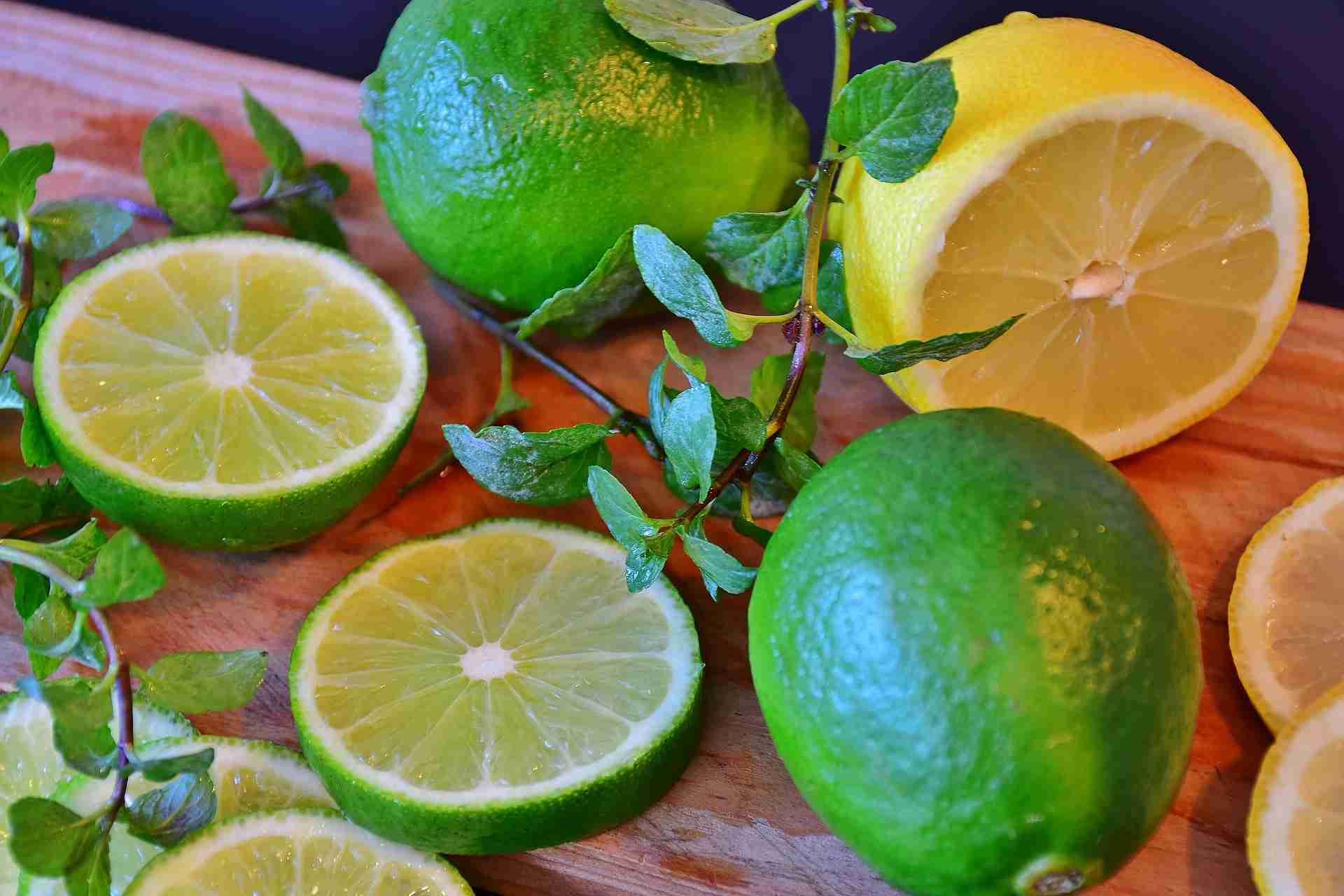 Zitrone Limette Unterschied