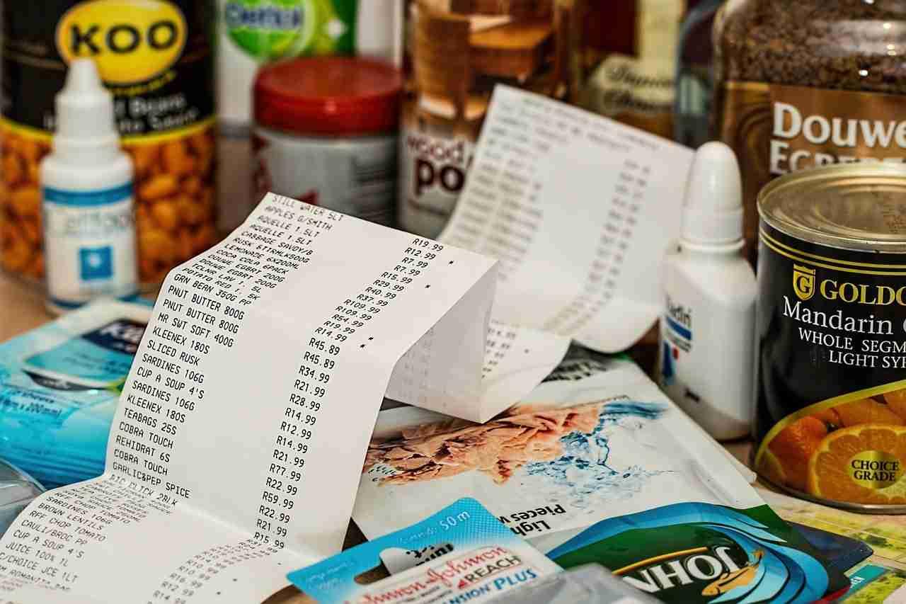 einkauf sparen Lebensmittel